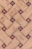 Περίπλοκη κεραμίδι-εργασία Plaza de Espana, Σεβίλη Στοκ Φωτογραφίες