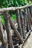 περίφραξη ξύλινη στοκ εικόνα