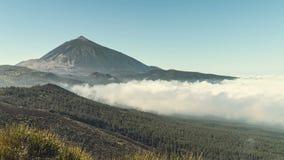 Περίχωρα του ηφαιστείου Teide στα Tenerife νησιών Κανάρια νησιά απόθεμα βίντεο