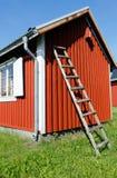 περίληψη ενάντια στον κλίνοντας τοίχο σκαλών έννοιας Στοκ εικόνες με δικαίωμα ελεύθερης χρήσης