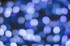 Περίληψη θαμπάδων Bokeh από το φως Χριστουγέννων Στοκ εικόνα με δικαίωμα ελεύθερης χρήσης