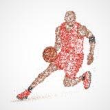 Περίληψη, καλαθοσφαίριση, αθλητής Στοκ Φωτογραφίες
