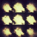 Περίληψη κολάζ σύννεφων Στοκ φωτογραφία με δικαίωμα ελεύθερης χρήσης