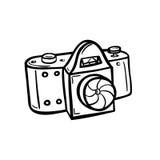 Περίληψη μιας κάμερας Στοκ Εικόνα