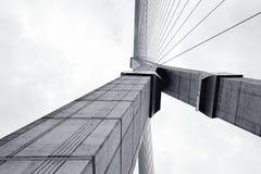 Περίληψη δομική της γέφυρας Στοκ φωτογραφία με δικαίωμα ελεύθερης χρήσης
