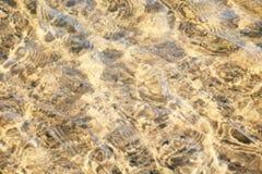 Περίληψη σύστασης νερού Στοκ Εικόνες