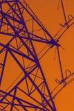 Περίληψη του πυλώνα δύναμης Στοκ εικόνες με δικαίωμα ελεύθερης χρήσης