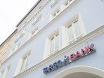 Περίληψη τράπεζας Targo Στοκ Εικόνες
