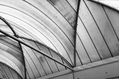 Περίληψη των γραμμών σε ένα ανώτατο όριο Στοκ φωτογραφίες με δικαίωμα ελεύθερης χρήσης