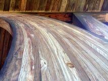 Περίληψη των μεγάλων ξύλινων ακτίνων Στοκ εικόνες με δικαίωμα ελεύθερης χρήσης