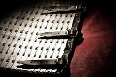 Περίληψη υποβάθρου από το ταχυδρομείο αλυσίδων Βίκινγκ Στοκ φωτογραφία με δικαίωμα ελεύθερης χρήσης