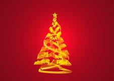 Περίληψη χριστουγεννιάτικων δέντρων διανυσματική απεικόνιση