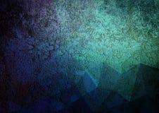 Περίληψη χρώματος κλίσης Grunge Στοκ Φωτογραφίες