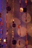 Περίληψη cirles των φω'των και των χρωμάτων Στοκ φωτογραφία με δικαίωμα ελεύθερης χρήσης