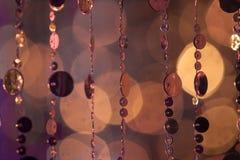 Περίληψη cirles των φω'των και των χρωμάτων Στοκ Εικόνα