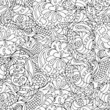 Περίληψη doodles Στοκ εικόνα με δικαίωμα ελεύθερης χρήσης
