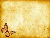 περγαμηνή πεταλούδων Στοκ φωτογραφίες με δικαίωμα ελεύθερης χρήσης