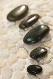 περιβάλλοντος καυτές πέτρες SPA μασάζ φυσικές Στοκ Φωτογραφίες
