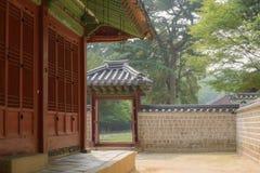 Περιβάλλον της κορεατικής αρχαίας λάρνακας Στοκ Εικόνες