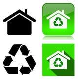Περιβαλλοντικά βιώσιμο κτήριο Στοκ φωτογραφία με δικαίωμα ελεύθερης χρήσης