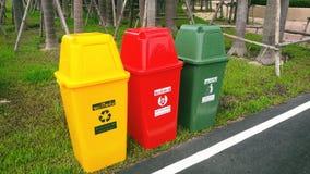 Περιβαλλοντικά δοχεία inThailand Στοκ Εικόνα