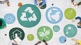 Περιβαλλοντική αύξηση Γ προστασίας συντήρησης ζωής συντήρησης Στοκ Εικόνες