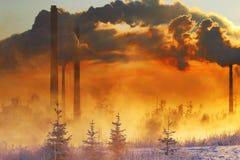 Περιβαλλοντική ρύπανση Στοκ Εικόνες