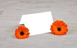 Περιγράψιμη κάρτα Στοκ φωτογραφία με δικαίωμα ελεύθερης χρήσης
