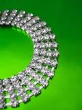 περιδέραιο διαμαντιών Στοκ εικόνες με δικαίωμα ελεύθερης χρήσης