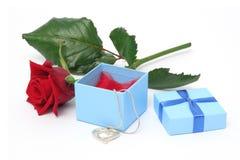 περιδέραιο δώρων στοκ εικόνες