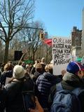 Περιθώρια κέρδους θέματος ζωών περισσότερο από, Μάρτιος για τις ζωές μας, διαμαρτυρία, NYC, Νέα Υόρκη, ΗΠΑ Στοκ Εικόνες