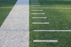 Περιθώριο αγωνιστικών χώρων ποδοσφαίρου Στοκ Εικόνες