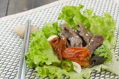 Περικάλυμμα Bulgogi βόειου κρέατος Στοκ φωτογραφία με δικαίωμα ελεύθερης χρήσης