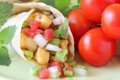 περικάλυμμα salsa fresca Στοκ εικόνα με δικαίωμα ελεύθερης χρήσης