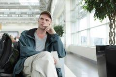 Περιμένοντας επιβάτης Στοκ εικόνα με δικαίωμα ελεύθερης χρήσης