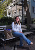 περιμένοντας νεολαίες σπουδαστών κλάσης στοκ εικόνα με δικαίωμα ελεύθερης χρήσης