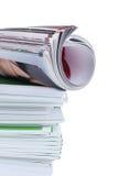 περιοδικά πολλά στοκ εικόνα με δικαίωμα ελεύθερης χρήσης
