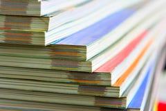 περιοδικά που συσσωρεύονται στοκ φωτογραφία με δικαίωμα ελεύθερης χρήσης