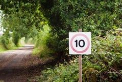 περιορίστε την ταχύτητα Στοκ εικόνα με δικαίωμα ελεύθερης χρήσης
