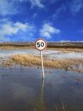 περιορίστε την ταχύτητα στοκ φωτογραφία με δικαίωμα ελεύθερης χρήσης