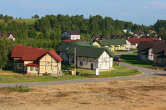 Περιορισμένη ανάπτυξη στις αγροτικές περιοχές Στοκ Εικόνες