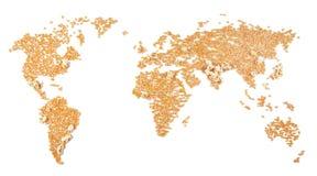 περιοχές που εποικούντ&alph Στοκ Εικόνα