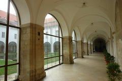 Περιοχές του κτηρίου μονών στο μοναστήρι Strahov, Πράγα Στοκ φωτογραφία με δικαίωμα ελεύθερης χρήσης