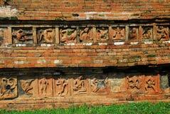 Περιοχές Bihar Archeological Paharpur στο Μπανγκλαντές Στοκ φωτογραφίες με δικαίωμα ελεύθερης χρήσης