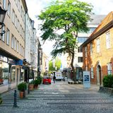Περιοχή αγορών Στοκ Εικόνες