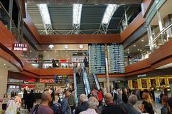 Περιοχή αναχώρησης στον αερολιμένα Sabiha Gokcen Στοκ εικόνες με δικαίωμα ελεύθερης χρήσης