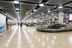 Περιοχή αξίωσης αποσκευών Στοκ Εικόνες