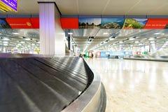 Περιοχή αξίωσης αποσκευών Στοκ εικόνα με δικαίωμα ελεύθερης χρήσης