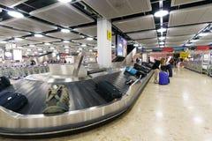 Περιοχή αξίωσης αποσκευών Στοκ Φωτογραφία