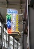 Περιοχή αποθηκών εμπορευμάτων του Ώστιν στον αερολιμένα Στοκ εικόνα με δικαίωμα ελεύθερης χρήσης